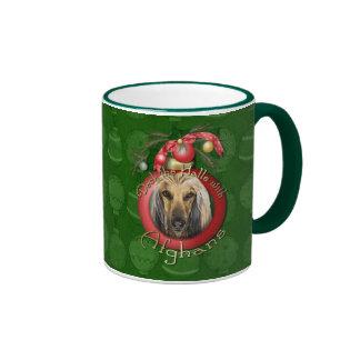 Christmas - Deck the Halls - Afghans Coffee Mugs