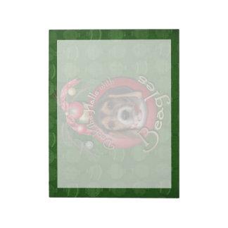 Christmas - Deck the Halls - Beagles Memo Notepads