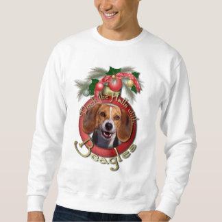 Christmas - Deck the Halls - Beagles Sweatshirt