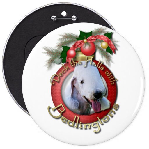 Christmas - Deck the Halls - Bedlingtons Buttons