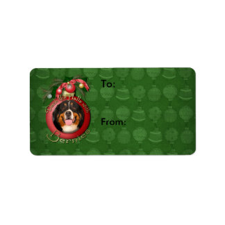Christmas - Deck the Halls - Bernies Address Label