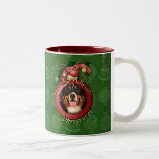 Christmas - Deck the Halls - Bernies Mug