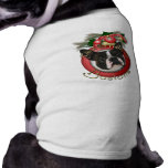 Christmas - Deck the Halls - Bostons Sleeveless Dog Shirt