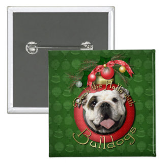 Christmas - Deck the Halls - Bulldogs Pins