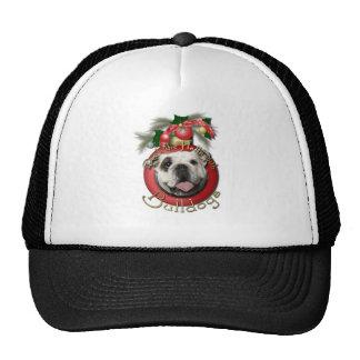 Christmas - Deck the Halls - Bulldogs Trucker Hats