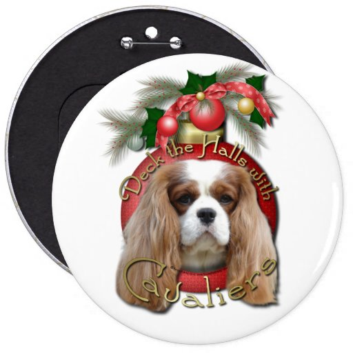 Christmas - Deck the Halls - Cavaliers - Blenheim Pins