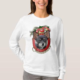 Christmas - Deck the Halls - Chihuahuas - Isabella T-Shirt