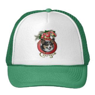 Christmas - Deck the Halls - Corgis Trucker Hat