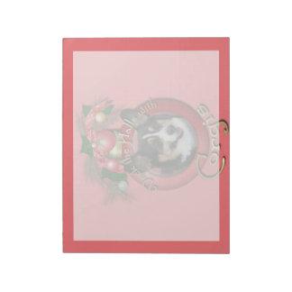 Christmas - Deck the Halls - Corgis Note Pad