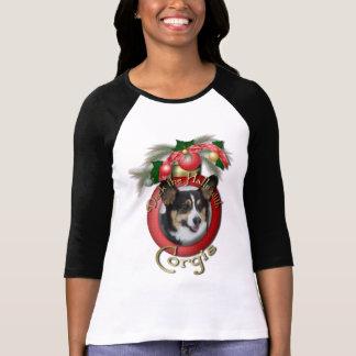 Christmas - Deck the Halls - Corgis Tshirt