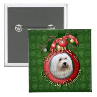 Christmas - Deck the Halls - Cotons Pins