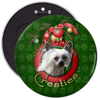 Christmas - Deck the Halls - Cresties Buttons