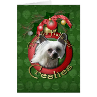 Christmas - Deck the Halls - Cresties Card
