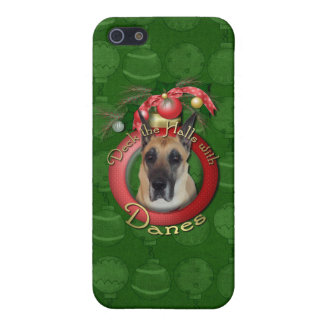 Christmas - Deck the Halls - Danes iPhone 5/5S Cases