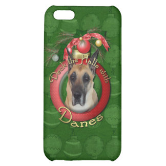 Christmas - Deck the Halls - Danes Case For iPhone 5C