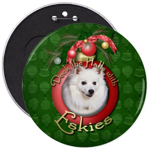 Christmas - Deck the Halls - Eskies Buttons