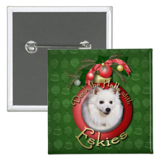 Christmas - Deck the Halls - Eskies Button