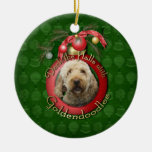 Christmas - Deck the Halls - Goldendoodles