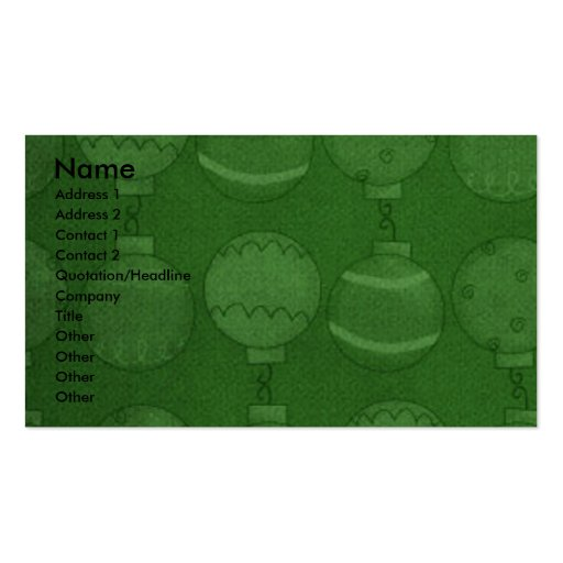 Christmas - Deck the Halls - Goldendoodles Pack Of Standard Business Cards