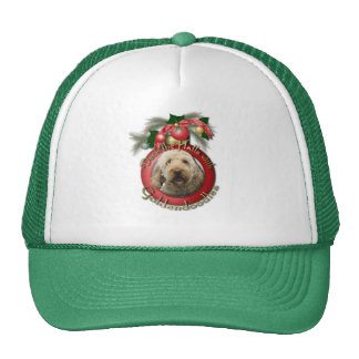 Christmas - Deck the Halls - Goldendoodles Hats