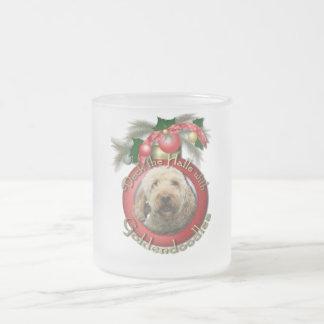 Christmas - Deck the Halls - Goldendoodles Mugs