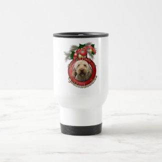 Christmas - Deck the Halls - Goldendoodles Coffee Mug