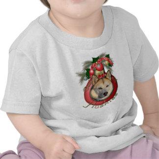 Christmas - Deck the Halls - Huskies - Copper Tee Shirts