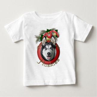 Christmas - Deck the Halls - Huskies T Shirts