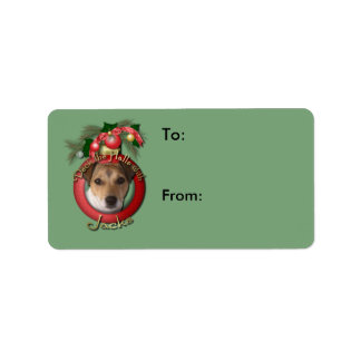 Christmas - Deck the Halls - Jacks Address Label
