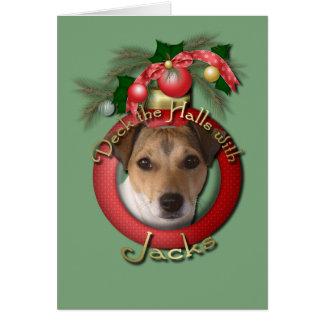 Christmas - Deck the Halls - Jacks Card