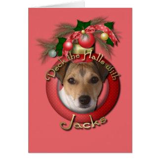 Christmas - Deck the Halls - Jacks Greeting Card