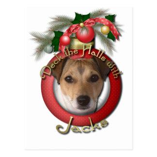Christmas - Deck the Halls - Jacks Postcard