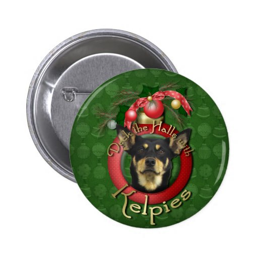 Christmas - Deck the Halls - Kelpies Buttons