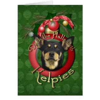 Christmas - Deck the Halls - Kelpies Card
