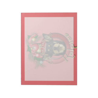 Christmas - Deck the Halls - Kelpies Note Pads