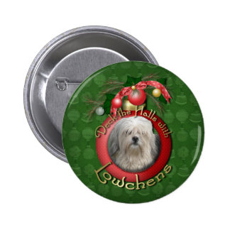 Christmas - Deck the Halls - Lowchens Pins