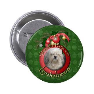 Christmas - Deck the Halls - Lowchens Pins