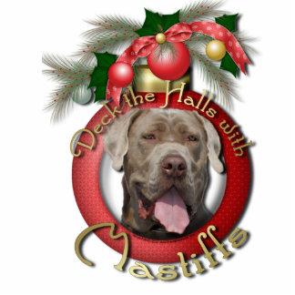Christmas - Deck the Halls - Mastiffs - Snoop Photo Sculpture Decoration