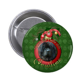 Christmas - Deck the Halls - Newfie Pins