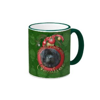 Christmas - Deck the Halls - Newfie Mug