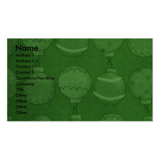 Christmas - Deck the Halls - Pugs Pack Of Standard Business Cards