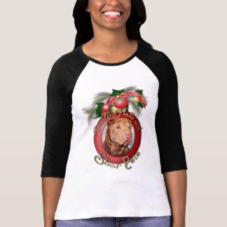 Christmas - Deck the Halls - Shar Peis - Lucky Shirt