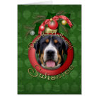 Christmas - Deck the Halls - Swissies Card