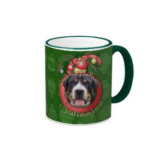 Christmas - Deck the Halls - Swissies Mugs