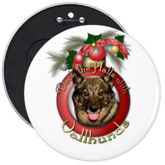Christmas - Deck the Halls - Vallhunds Pin