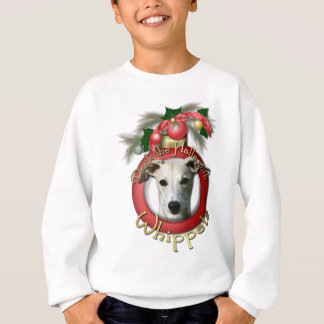 Christmas - Deck the Halls - Whippets Sweatshirt