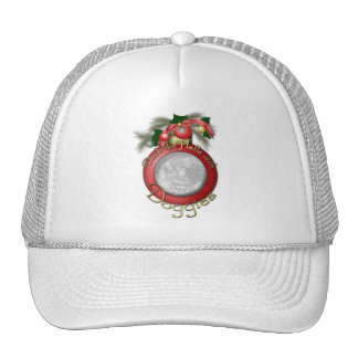 Christmas - Deck the Halls With Doggies Hat