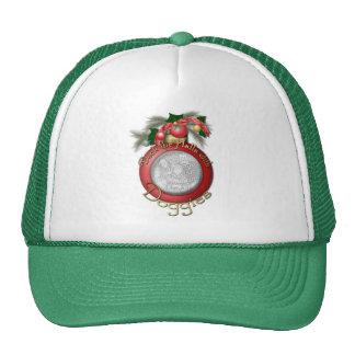 Christmas - Deck the Halls With Doggies Trucker Hat