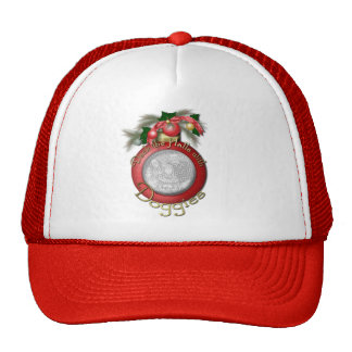 Christmas - Deck the Halls With Doggies Mesh Hats
