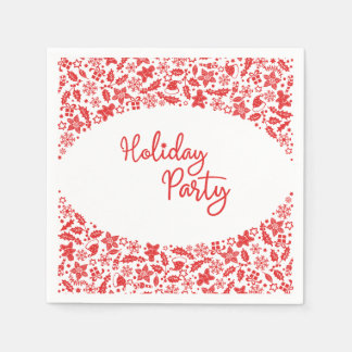 Christmas Decor Arch Holiday Party Napkin Paper Napkin